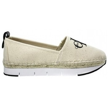 Schuhe Damen Sneaker Low Calvin Klein Jeans Jeans Genna R8949 Natural/White Beżowy
