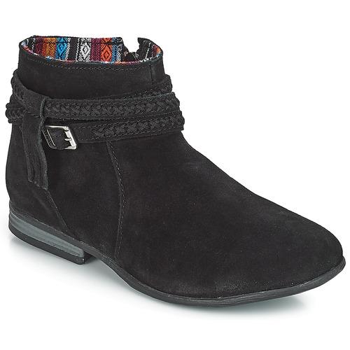 Minnetonka DIXON BOOT Schwarz  Schuhe Boots Damen 129