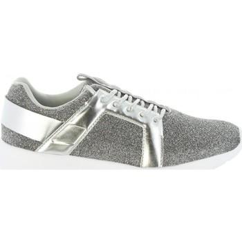 Schuhe Damen Sneaker Low Bass3d 41436 Plateado