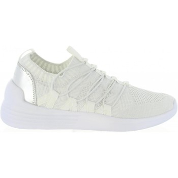 Schuhe Damen Sneaker Low Bass3d 41489 Blanco