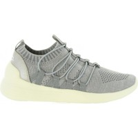 Schuhe Damen Sneaker Low Bass3d 41489 Gris