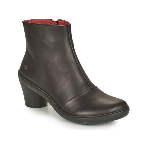 Art ALFAMA Schwarz  Schuhe Low Boots Damen 119