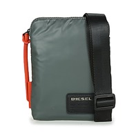 Taschen Herren Geldtasche / Handtasche Diesel DISCOVER SMALLCROSS Grau / Orange