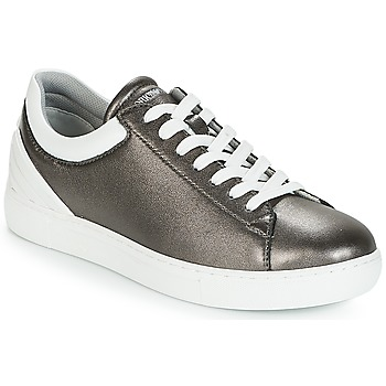 Schuhe Damen Sneaker Low Emporio Armani BRUNA Zinn