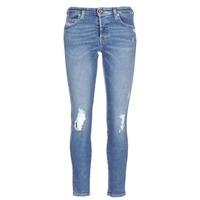 Kleidung Damen Slim Fit Jeans Diesel BABHILA Blau / 084wp