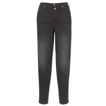 Kleidung Damen Straight Leg Jeans Diesel ALYS Schwarz / 069bg