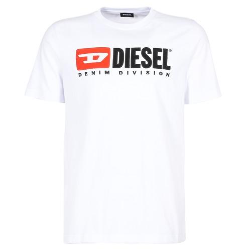 Kleidung Herren T-Shirts Diesel T JUST DIVISION Weiss