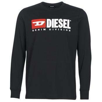 Kleidung Herren Langarmshirts Diesel T JUST LS DIVISION Schwarz