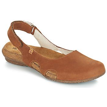 Schuhe Damen Sandalen / Sandaletten El Naturalista WAKATAUA Braun