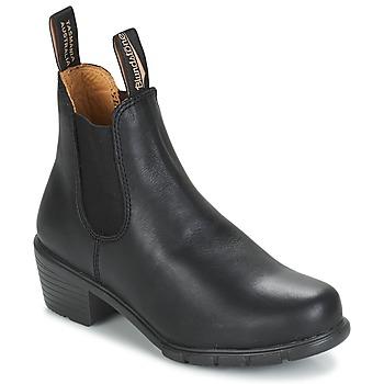 Schuhe Damen Boots Blundstone WOMEN'S HEEL BOOT Schwarz
