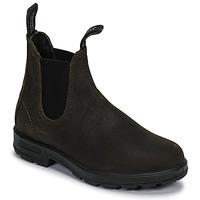 Schuhe Boots Blundstone ORIGINAL SUEDE CHELSEA BOOTS Kaki