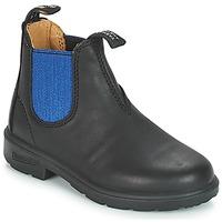 Schuhe Kinder Boots Blundstone KIDS BOOT Schwarz / Blau