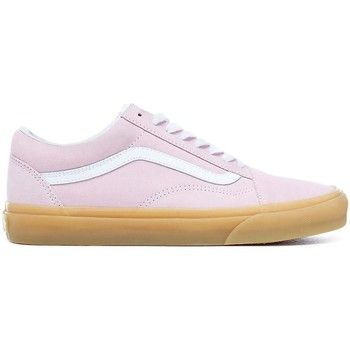 Schuhe Damen Sneaker Low Vans ZAPATILLAS  OLD SKOOL Rosa