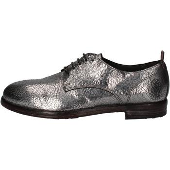 Schuhe Damen Derby-Schuhe Moma elegante silber leder AE200 silber