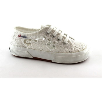 Schuhe Kinder Sneaker Low Superga SUP-CCC-8YB0-901 Bianco
