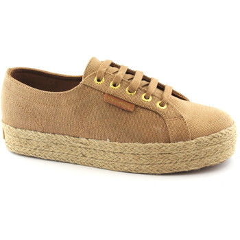 Schuhe Damen Sneaker Low Superga SUP-E18-C4YO-A66 Beige