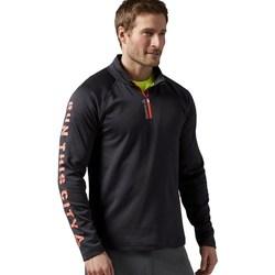 Kleidung Herren Sweatshirts Reebok Sport Running Essentials Graphit