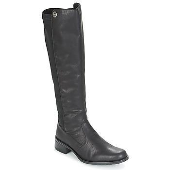 Schuhe Damen Klassische Stiefel Rieker ARNIA Schwarz