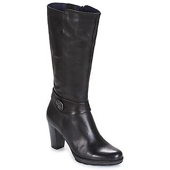 Schuhe Damen Klassische Stiefel Dorking REINA Schwarz