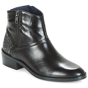 Schuhe Damen Boots Dorking CELINE Schwarz
