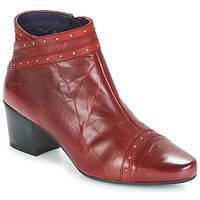 Schuhe Damen Low Boots Dorking NIR Rot