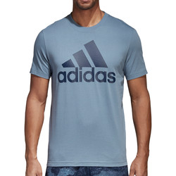 Kleidung Herren T-Shirts adidas Originals Essentials Linear Tee Blau