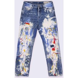 Kleidung Kinder Straight Leg Jeans Diesel REEN-J JJJ-N 00J3SD KXA38 JEANS Mädchen DENIM MEDIUM BLUE DENIM MEDIUM BLUE