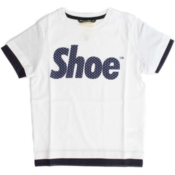 Kleidung Kinder T-Shirts Shoeshine E8TM1214 T-SHIRT Unisex Junior WHITE WHITE