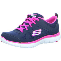 Schuhe Damen Sneaker Low Skechers Lex Appeal 2.0 12761 NVHP navy/hot pink