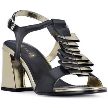 Schuhe Damen Sandalen / Sandaletten Apepazza NERO HEEL SANDAL Nero