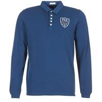 Kleidung Herren Langärmelige Polohemden Serge Blanco POLO France Blau