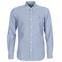 Kleidung Herren Langärmelige Hemden Serge Blanco 15 DOS Blau