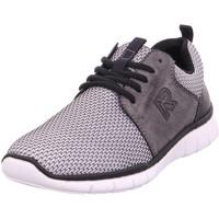 Schuhe Herren Sneaker Low Rieker - B8740-41 weiss-grau/asphalt