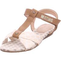 Schuhe Jungen Sandalen / Sandaletten Mustang - 5029808 480 Champagner