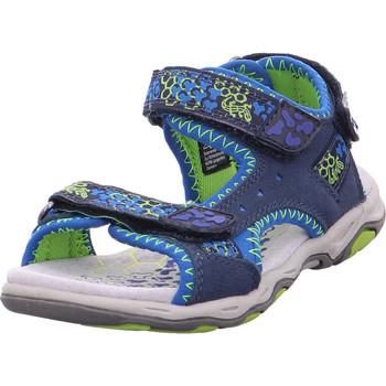 Schuhe Jungen Sandalen / Sandaletten Lurchi BRIAN Dk.Jeans Cobalt
