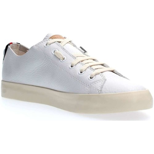 Tommy Hilfiger FM0FM01318 UNLINED LEATHER LOW CUT SNEAKERS Herren WHITE WHITE