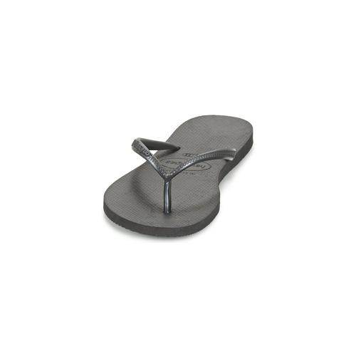 Havaianas Slim Schwarz - Kostenloser Versand   Schuhe Zehensandalen Damen 2370