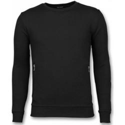 Kleidung Herren Sweatshirts Enos Lässige Buttons Schwarz