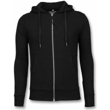Kleidung Herren Sweatshirts Bb Bread & Buttons Hoodie Side Zippers Schwarz