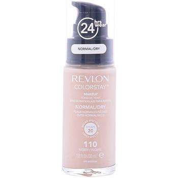 Beauty Damen Make-up & Foundation  Revlon Colorstay Foundation Normal/dry Skin 110-ivory  30 ml