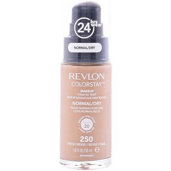Beauty Damen Make-up & Foundation  Revlon Gran Consumo Colorstay Foundation Normal/dry Skin 250-fresh Beige