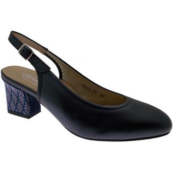 Schuhe Damen Sandalen / Sandaletten Calzaturificio Loren LO5234bl blu