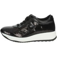 Schuhe Damen Sneaker Low Agile By Ruco Line Agile By Rucoline  1315 Niedrige Sneakers Damen Schwarz Schwarz