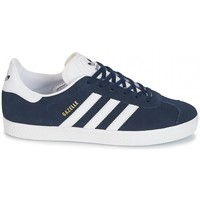 Schuhe Sneaker Low adidas Originals GAZELLE J Bleu