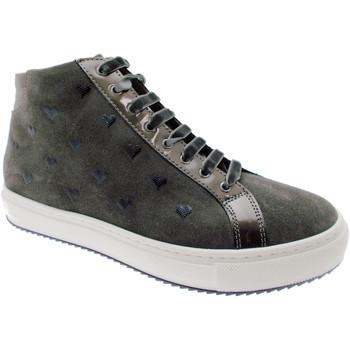 Schuhe Damen Boots Calzaturificio Loren LOC3763gr grigio