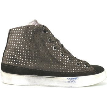 Schuhe Damen Sneaker High Beverly Hills Polo Club POLO sneakers braun wildleder AJ14 braun