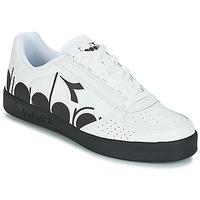 Schuhe Herren Sneaker Low Diadora B.ELITE BOLDER Weiss / Schwarz