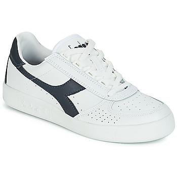 Schuhe Sneaker Low Diadora B.ELITE Weiss / Marine