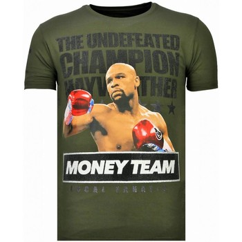 Kleidung Herren T-Shirts Local Fanatic Money Team Champ Strass Grün