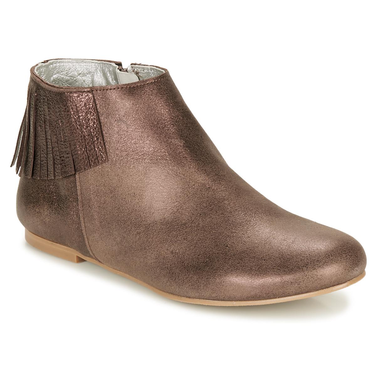 Ippon Vintage DOLLY MAGIC Beige / Gold - Kostenloser Versand bei Spartoode ! - Schuhe Boots Damen 145,00 €